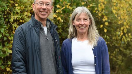 Alan and Christine Collett who look after baby swifts Picture: CHARLOTTE BOND
