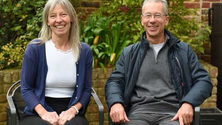 Alan and Christine Collett have been looking after swifts in Aldeburgh Picture: CHARLOTTE BOND