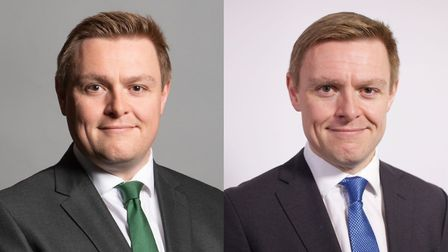 Colchester Conservative MP Will Quince has lost more than five stone in a year. Picture: WILL QUINCE MP