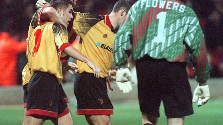 Kevin Phillips, pictured during his Watford days. Picture: PA