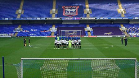Town fans haven't been able to attend games at Portman Road since March Picture: STEVE WALLER