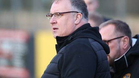 Rick Andrews, who has resigned as the manager of Stowmarket Town. Picture: RICHARD MARSHAM