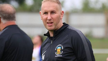 Paul Musgrove, who has been appointed the new manager of Stowmarket Town. Picture: DM PHOTOGRAPHY