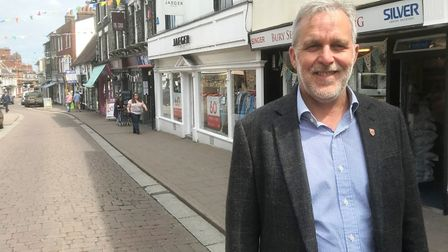 Bury BID chief executive Mark Cordell Picture: OUR BURY ST EDMUNDS