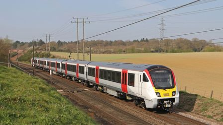 Greater Anglia has been testing Aventras since the spring. Picture: JOHN DAY
