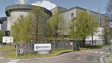 Firefighters were called to the Boortmalt factory in Bury on Tuesday morning Picture: GOOGLE MAPS