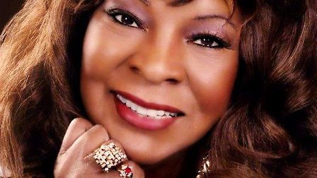 SOUL DIVA: Former Motown star Martha Reeves will be appearing at the Marina Theatre in Lowestoft in