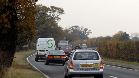 The new road would replace the existing A120 from Marks Tey to Braintree. Picture: LUCY TAYLOR