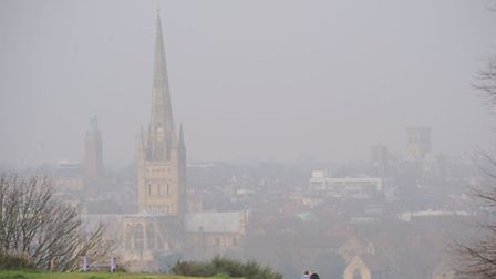 Pollution in Norwich. Photo by Simon Finlay.