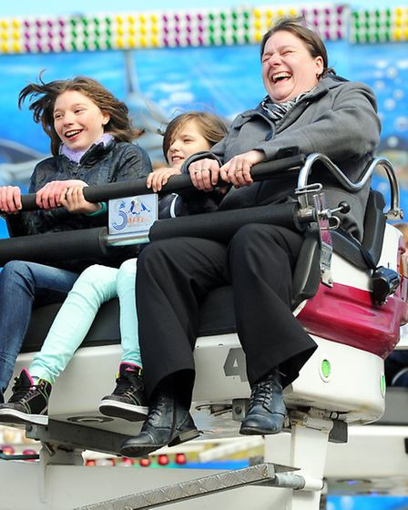 The annual Great Yarmouth Easter Fair in the market place.Picture: James Bass