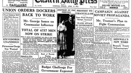On this day: EDP 21 April 1950