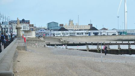 A section of Lowestoft South beach is still closed.