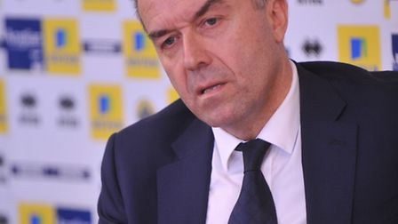 Norwich City chief executive David McNally knows what is at stake after dismissing Chris Hughton. Ph