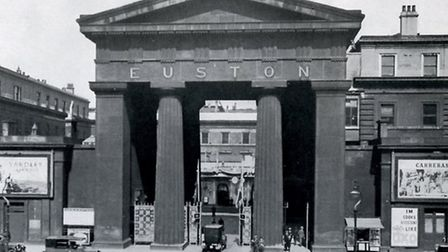 1938... Euston Arch in its heyday