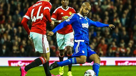 David McGoldrick is set to return for Ipswich Town at Nottingham Forest