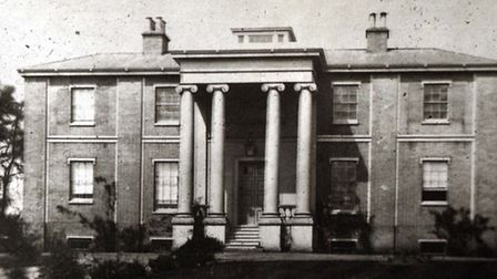 Anglesea Road wing 1840s