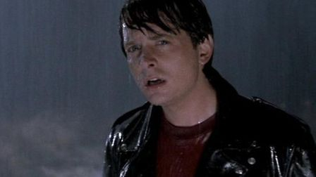 Michael J Fox as Martin McFly in Back to the Future II