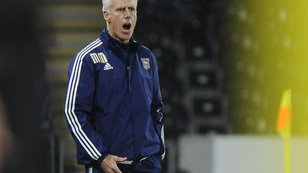 Mick McCarthy is not amused at Hull