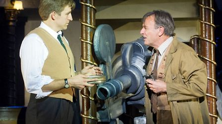Haydn Oakley and Brian Capron inThe Smallest Show on Earth, a new musical with songs by Irving Berlin, which enjoyed good...