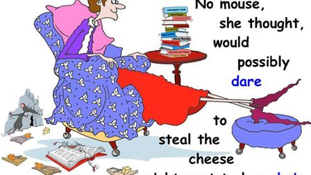 Elida the Spider tells the story of old Lady Macintosh and cat Boris posing a threat to Morris the mouse. The arachnid...