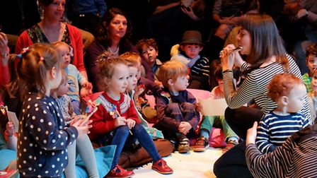 The House of Secret Sounds, part of a series of workshops, which will make-up this year's Britten Weekend at Snape...