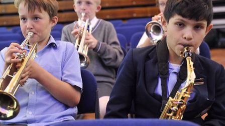 A workshop at Ipswich School Festival of Music