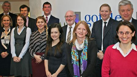 Members of the team at Gotelee Solicitors, including some of the latest arrivals which have taken the firm's headcount...