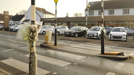 The zebra crossing in Kirby Cross was the scene of a fatal accident.