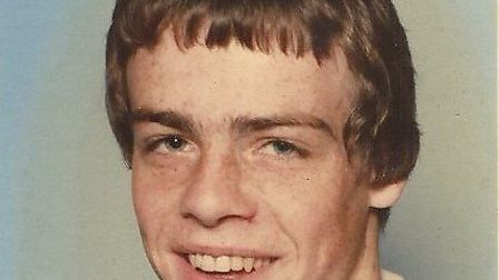 David Martin, pictured when he was at high school