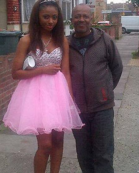 Clem was the chauffeur for grandaughter Dominque Aggrey's prom