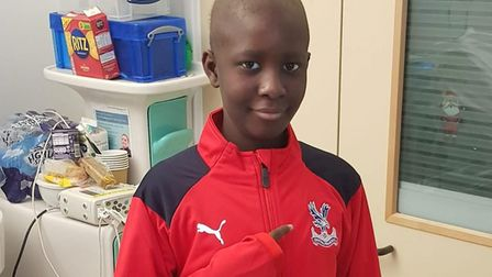 Damary Dawkins has received a stem cell transplant. Pic: ACLT