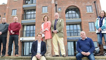 Three new business are to open at Quayside Court in Wells (the new building which was the former bur