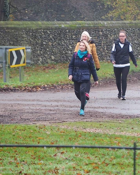 Three friends from Thetford took on a walking marathon, stopping at war memorials along the way to raise money for the...