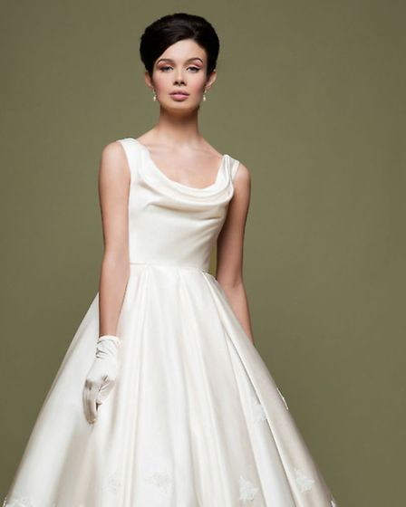 The Frock Shop in Norwich are exhibiting at the EDP Wedding Show at Dunston Hall on April 27