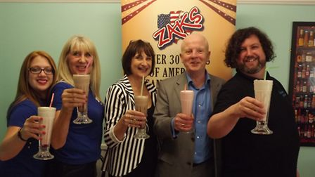 David and Joan Hughes are going to open the first Zaks franchise. Picture: Supplied.