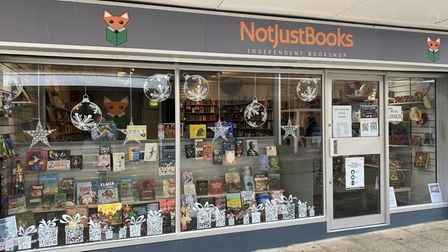 Not Just Books, an independent bookshop in Thetford.