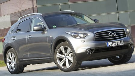 The QX70 luxury sports crossover is Infinitis best-selling model and loaded with equipment and style