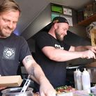 The team at Fat Teds Streat Food in Sheringham.
