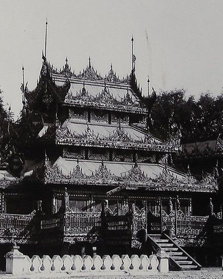 The Mandalay Palace complex; Photo credit: Submitted.