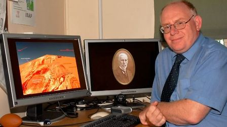 Prof Vince Gaffney, from the University of Bradford's School of Archaeological and Forensic Sciences