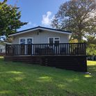 The front of the lodge at Shorefield Holiday Park Picture: NATALIE SADLER