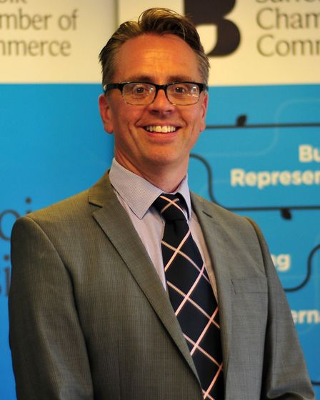 Paul Simon, of the Suffolk Chamber of Commerce, said business were preparing for the tier announcements Picture: DAVID GARRAD