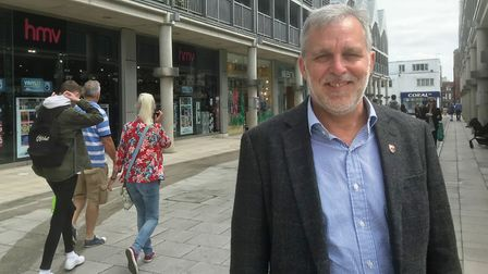 Bury BID chief executive Mark Cordell warned of the effects of the region being placed in a higher tier Picture: OUR BURY...