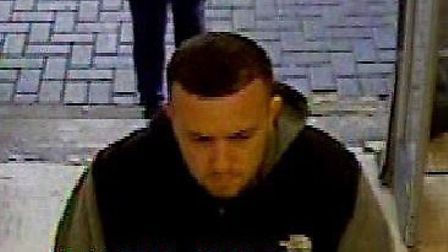 CCTV has been issued after a man stole almost £500 of tools from Homebase in Bury St Edmunds Picture: SUFFOLK POLICE