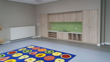 The extension at Bramford CEVC Primary School has finally been completed. Picture: BRAMFORD CEVC PRIMARY SCHOOL