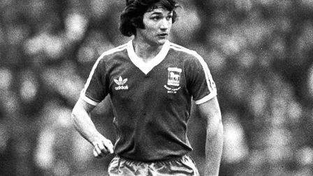 A young George Burley during his early days as a player. He later played against Diego Maradona, for Scotland against...