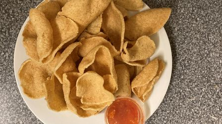 Thai Street Cafe seafood crackers: tasty, not greasy Pictures: SimonWeir/Archant