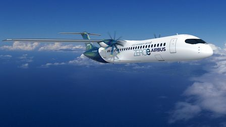 Another of the Airbus ZEROe concept planes Picture: AIRBUS