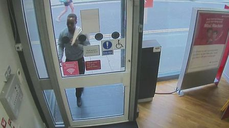 Bruce Chipunza robbed the Saffron Building Society branch in Culver Street West, Colcheter, in July 2019. Picture: ESSEX...