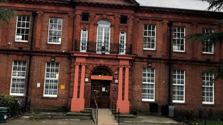 Bethnal Green library in listed building set in picturesque surroundings of Bethnal Green Gardens. Picture: Google